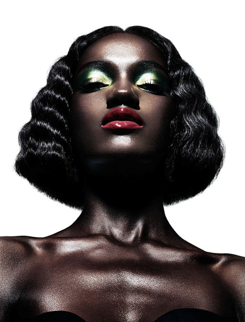 Jeneil Williams & Herieth Paul by Daniel Sannwald for Pop Fall 2012