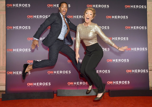 Don Lemon and Brooke Baldwin attend CNN Heroes 2017 at the American Museum of Natural History on December 17, 2017 in New York City. (Photo by Mike Coppola/Getty Images for CNN)
