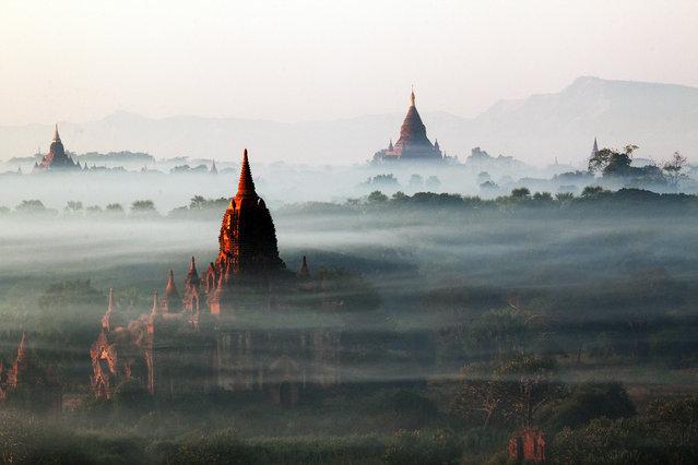 """""""A Visit to Bagan, Myanmar"""". Photo by Han Tha (Yangon, Myanmar). Photographed in Bagan, Myanmar, January 2011."""