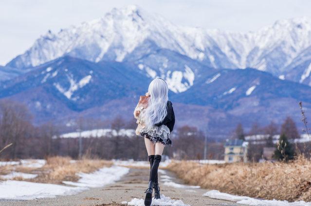 """Journey through the winter"". Location: Yatsugatake (Minamimaki vil). (AZURE)"
