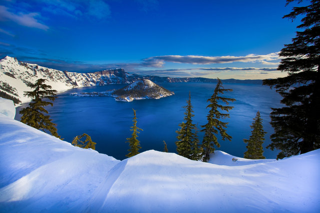 Crater Lake National Park in Oregon. (Photo by U.S. Department of the Interior/Cater News)