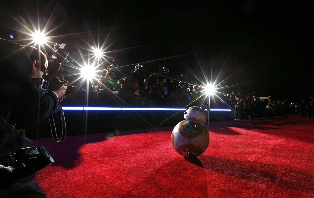 """World Premiere of """"Star Wars: The Force Awakens"""""""