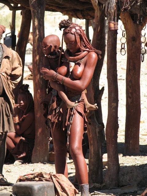 Himba Beauty Girl. Photo by Ecololo
