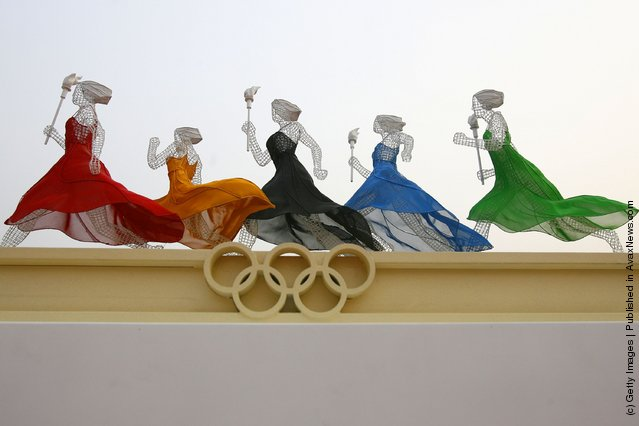 Chinese Olympic Sculpture