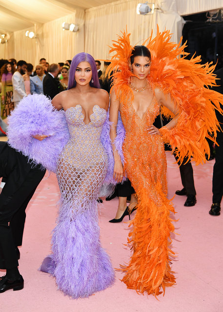 Kylie Jenner and Kendall Jenner attend The 2019 Met Gala Celebrating Camp: Notes on Fashion at Metropolitan Museum of Art on May 06, 2019 in New York City. (Photo by Dimitrios Kambouris/Getty Images for The Met Museum/Vogue)