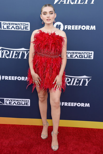 Meg Donnelly attends Variety's Power Of Young Hollywood at The H Club Los Angeles on August 6, 2019 in Los Angeles, California. (Photo by Gregg DeGuire/WireImage)
