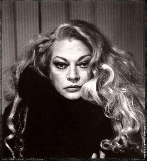 Photographers: Helmut Newton. Anita Ekberg