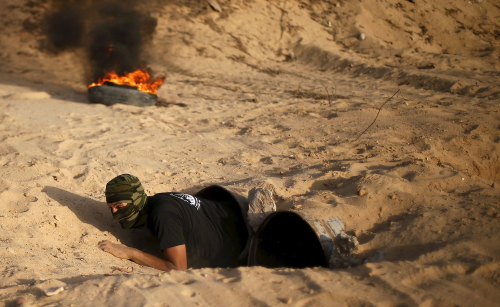Military Exercise in Southern Gaza Strip