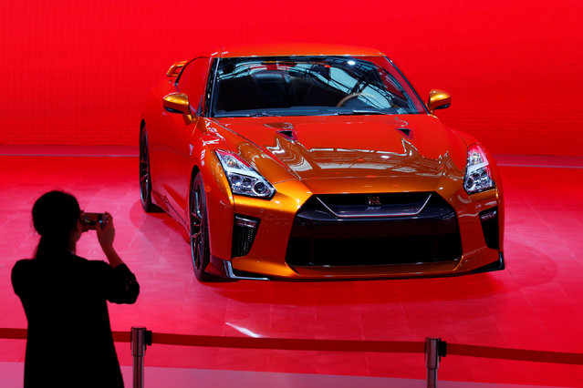A 2017 GT-R super car by Nissan is shown at China (Guangzhou) International Automobile Exhibition in Guangzhou, China November 18, 2016. (Photo by Bobby Yip/Reuters)