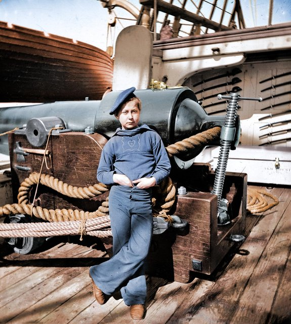 Civil War Powder Monkey - Charleston, SC 1865.