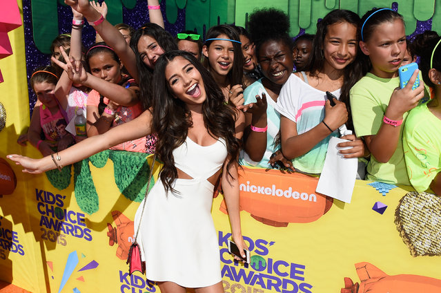 Actress Cristine Prosperi attends Nickelodeon's 28th Annual Kids' Choice Awards held at The Forum on March 28, 2015 in Inglewood, California. (Photo by Frazer Harrison/Getty Images)