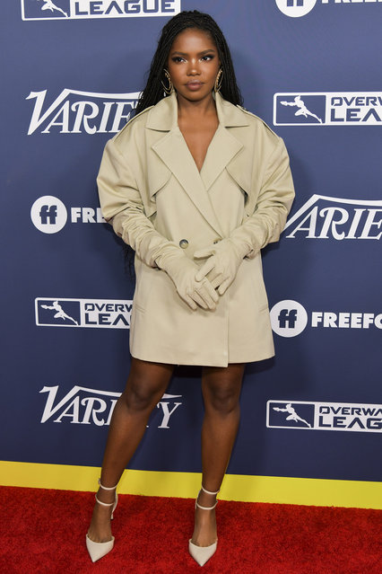 Ryan Destiny attends Variety's Power of Young Hollywood at The H Club Los Angeles on August 06, 2019 in Los Angeles, California. (Photo by Rodin Eckenroth/Getty Images)