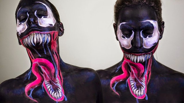 Face Painting By Elsa Rhae
