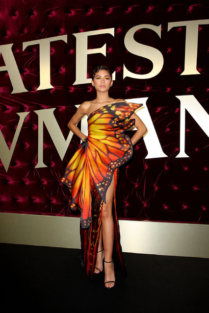 Zendaya attends the Australian premiere of The Greatest Showman at The Star on December 20, 2017 in Sydney, Australia. (Photo by Lisa Maree Williams/Getty Images)