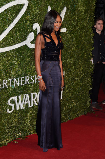 Naomi Campbell attends the British Fashion Awards at London Coliseum on December 1, 2014 in London, England. (Photo by Pascal Le Segretain/Getty Images)