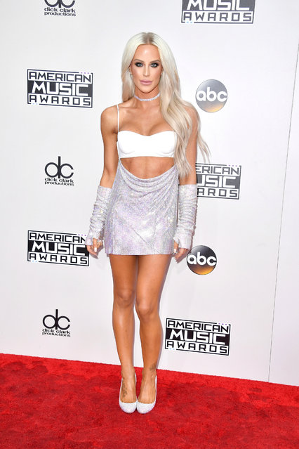 Internet personality Gigi Gorgeous attends the 2016 American Music Awards at Microsoft Theater on November 20, 2016 in Los Angeles, California. (Photo by Steve Granitz/WireImage)