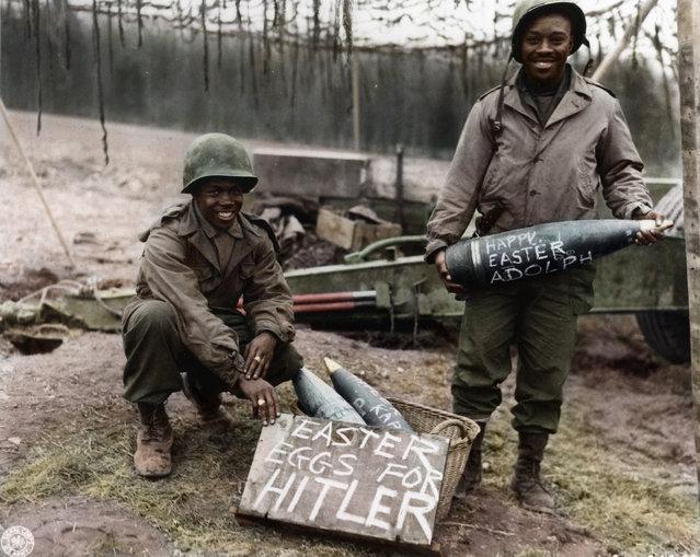 Easter Eggs for Hitler, 1944-45.