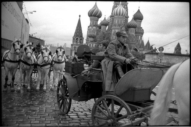 Parade rehearsal, November 2011. (Igor Mukhin)