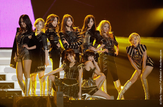 South Korean girl group Girls' Generation