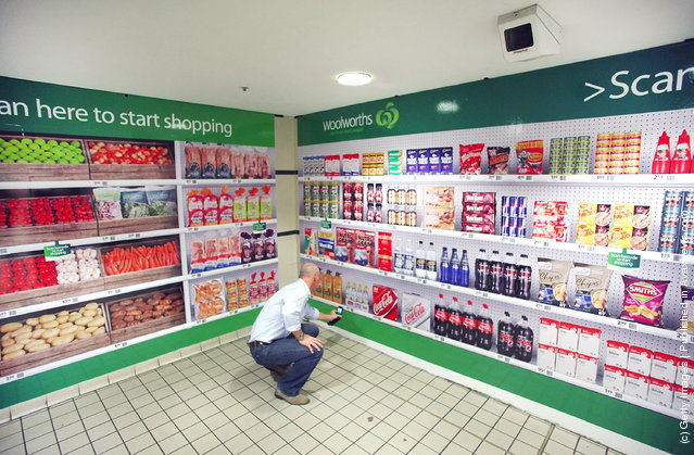 Woolworths Unveil Australia's First Virtual Supermarket