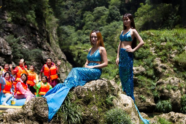 Looking for a reason to visit the Philippines? This mermaid school should do the trick. No, seriously, there's an actual school that will teach you how to be a mermaid. It's called the Philippines Mermaid Swimming Academy. A couple of years ago, the academy was founded by Anamie Saenz and Normeth Preglo. The duo was looking for a new fitness craze and thought of mermaids! It's all pretty simple; students are given mermaid tails that help them focus on their core muscles while they swim around like Ariel. If you're really looking to get involved, you can kick things up a notch with mermaid scuba diving and mermaid water scootering. The best part about the mermaid school? You can be any age and any gender – it really doesn't matter! All you need to do is pull together $40 for an introductory class. You get to use a mermaid tail, and you'll also get photos while taking part in the class. (Photo by Philippine Mermaid Swimming Academy/Exclusivepix Media)