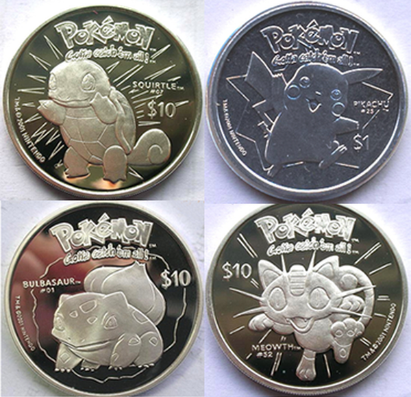 Niue Pokemon Legal Coins