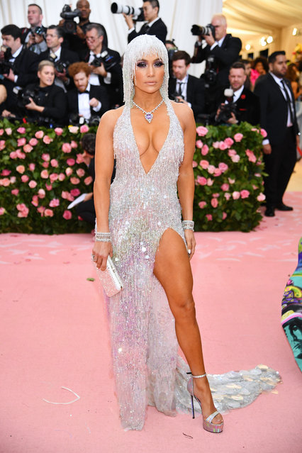 Jennifer Lopez attends The 2019 Met Gala Celebrating Camp: Notes on Fashion at Metropolitan Museum of Art on May 06, 2019 in New York City. (Photo by Dimitrios Kambouris/Getty Images for The Met Museum/Vogue)
