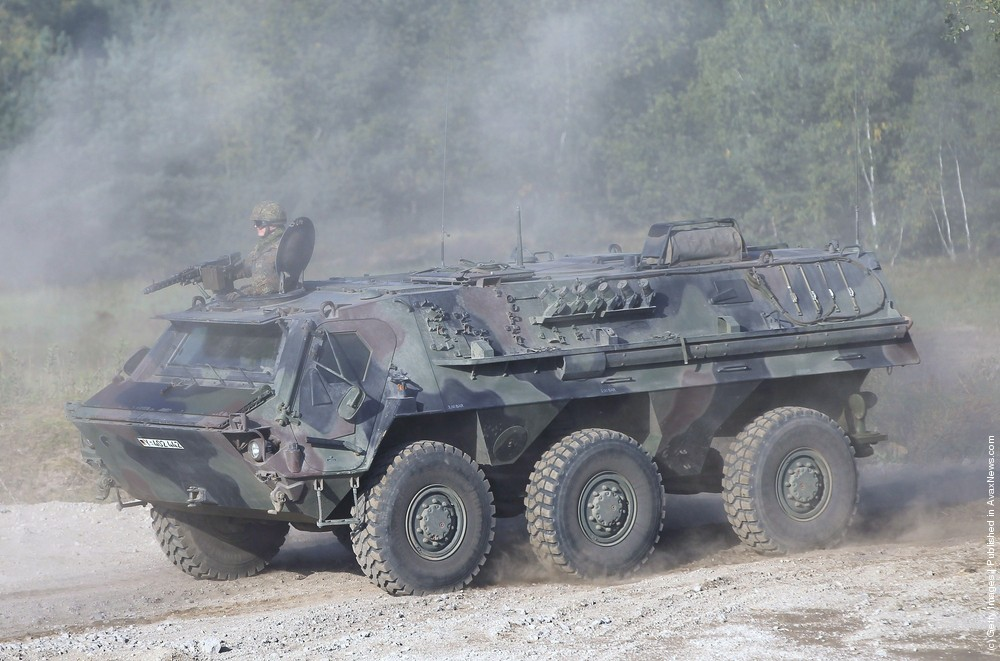 Bundeswehr Holds Military Exercises