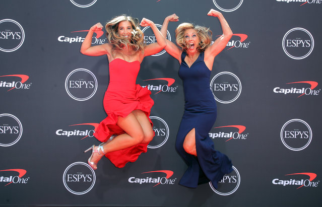 Katie Austin (L) and Denise Austin attend the 2019 ESPY Awards at Microsoft Theater on July 10, 2019 in Los Angeles, California. (Photo by Chelsea Lauren/Rex Features/Shutterstock)