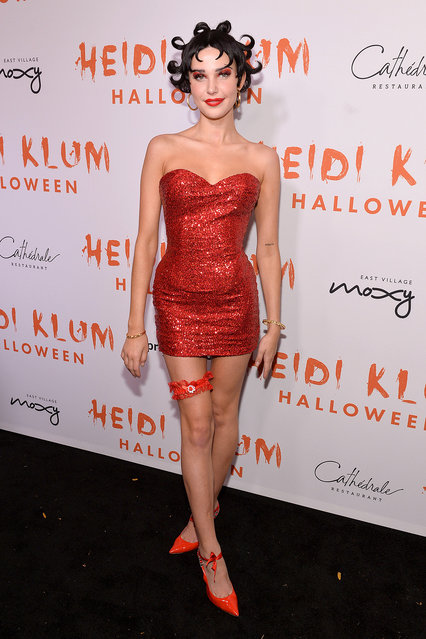 Charlotte D'Alessio attends Heidi Klum's 20th Annual Halloween Party presented by Amazon Prime Video and SVEDKA Vodka at Cathédrale New York on October 31, 2019 in New York City. (Photo by Noam Galai/Getty Images for Heidi Klum)