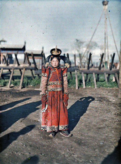 Married woman in Urga