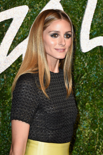 Olivia Palermo attends the British Fashion Awards at London Coliseum on December 1, 2014 in London, England. (Photo by Pascal Le Segretain/Getty Images)