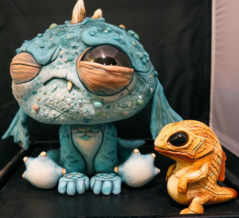 Friendly Monster By Chris Ryniak
