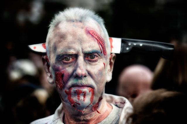 World Zombie Day 2013: London zombie walk. (Photo by Steve Wassell)
