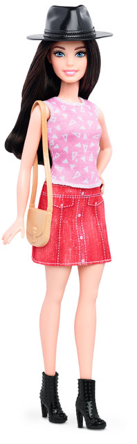 This photo provided by Mattel shows a new, petite Barbie Fashionista doll introduced in January 2016. (Photo by Mattel via AP Photo)