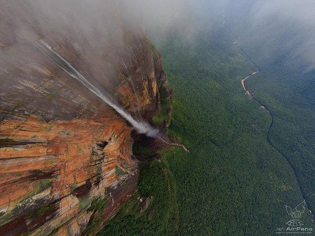 Angel Waterfall Of Venezuela  By Dima Moiseenko