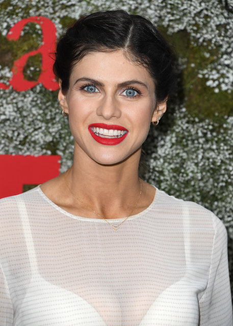 Alexandra Daddario arrives at the InStyle Max Mara Women In Film Celebration at Chateau Marmont on June 11, 2019 in Los Angeles, California. (Photo by Steve Granitz/WireImage)