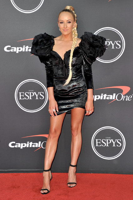 Nastia Liukin attends the 2019 ESPY Awards at Microsoft Theater on July 10, 2019 in Los Angeles, California. (Photo by Allen Berezovsky/WireImage)