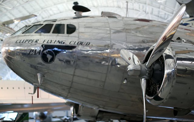 A Boeing 307 Stratoliner, the first pressurized cabin passenger aircraft, is seen at the Udvar-Hazy Smithsonian National Air and Space Annex Museum in Chantilly, Virginia August 28, 2015. (Photo by Gary Cameron/Reuters)
