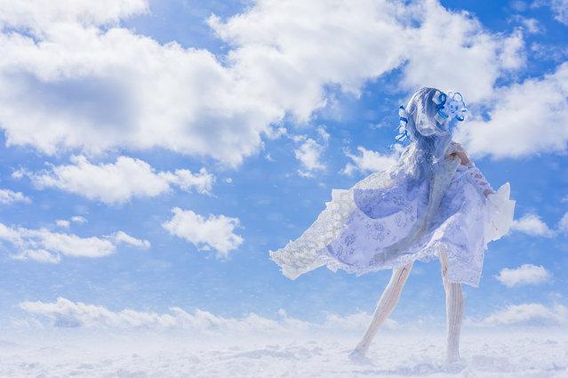 """White horizon"". Location: Utsukushigahara Highlands. (AZURE)"