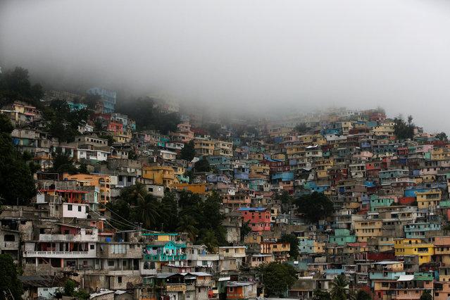 A general view as Hurricane Matthew approaches Port-au-Prince, Haiti, October 3, 2016. (Photo by Carlos Garcia Rawlins/Reuters)