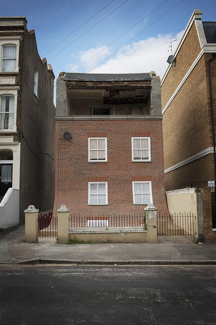 Margate Sliding House Created By Artist Alex Chinneck