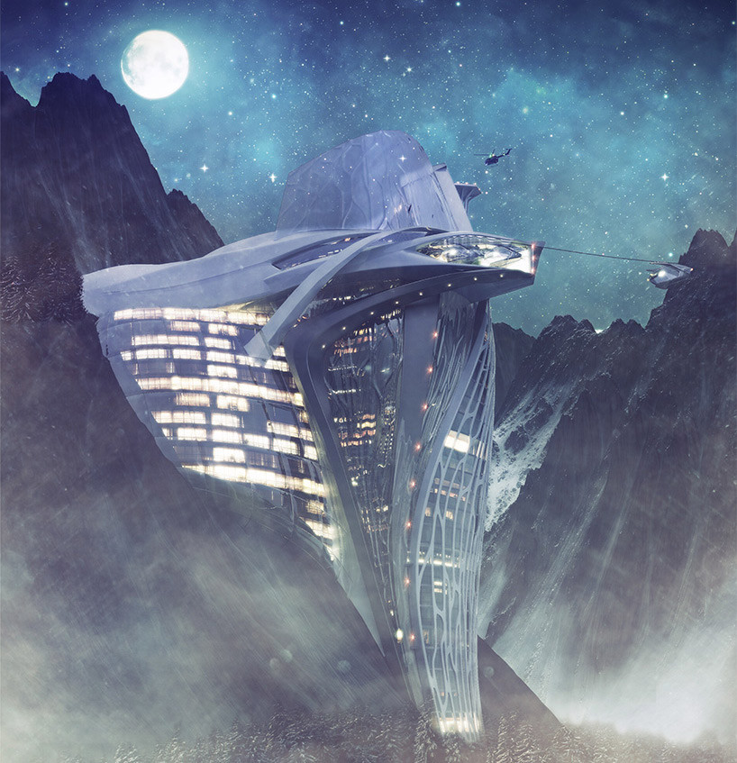 Semiotic Alpine Escape by Armin Senoner