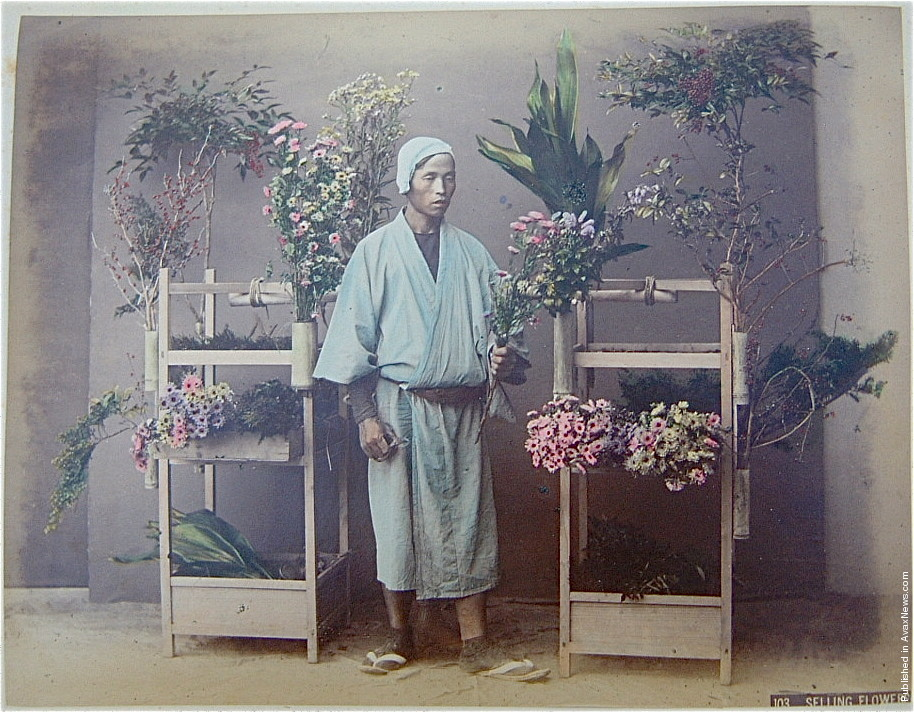 Japanese 130 Years Ago, Part II. Photos by Kusakabe Kimbei