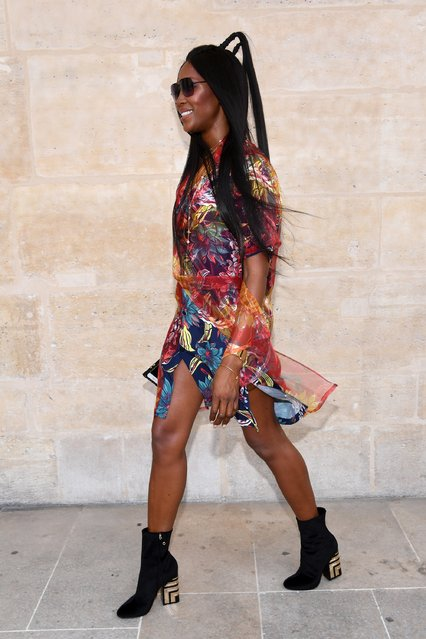 Naomi Campbell attends the Louis Vuitton Menswear Spring/Summer 2018 show as part of Paris Fashion Week on June 22, 2017 in Paris, France. (Photo by Pascal Le Segretain/Getty Images)