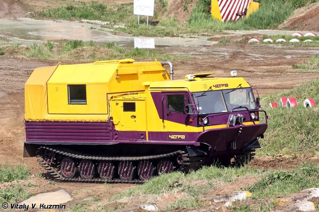 Tracked vehicle TM-130 Chetra