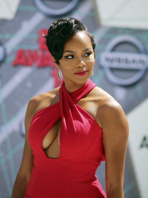 Singer LeToya Luckett arrives at the 2016 BET Awards in Los Angeles, California U.S. June 26, 2016. (Photo by David McNew/Reuters)