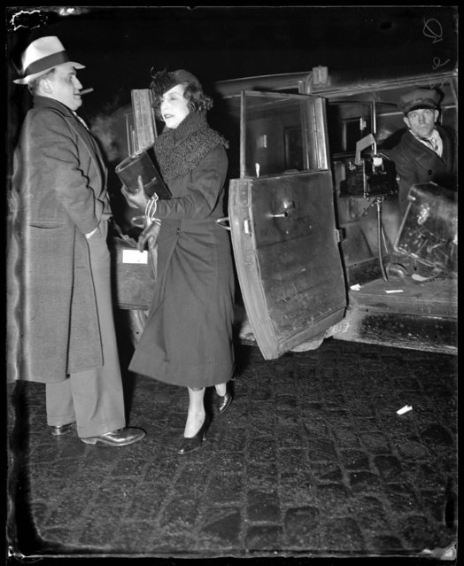 "Eveyln ""Billie"" Frechette was released from prison on January 30, 1936. (Photo by Chicago Tribune Historical Photo)"