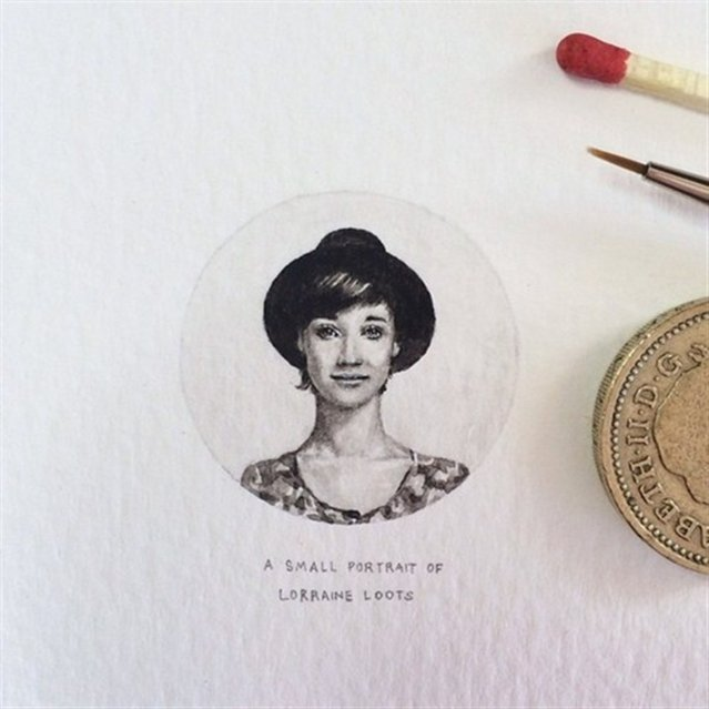 Miniature Painting By Lorraine Loots