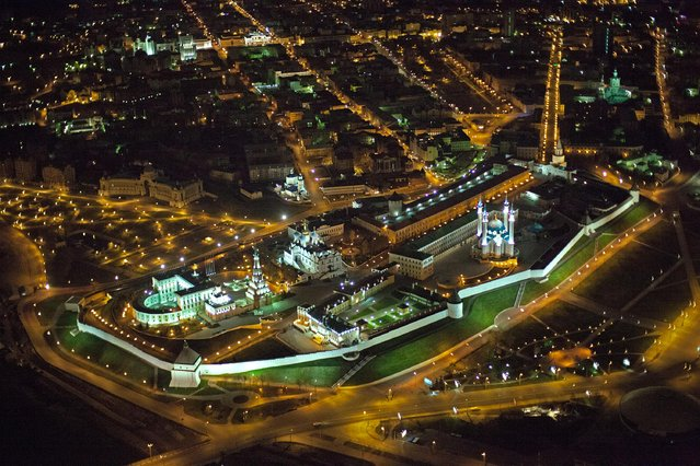 "Russia From Above: ""The Other Fortress"". The Kazan Kremlin, in the Republic of Tatarstan. (Photo by Sergey Fomin)"